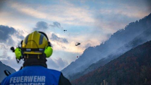 """Flammen-Inferno in Österreich: """"Noch lange nicht unter Kontrolle"""""""