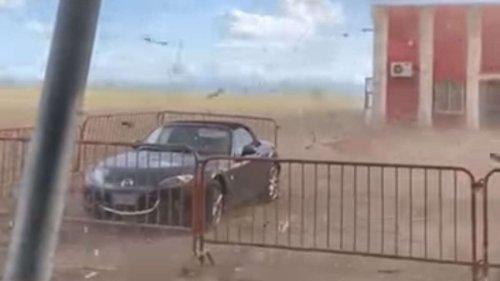Tornado-Serie wütet in Italien - Video zeigt unfassbare Naturgewalt