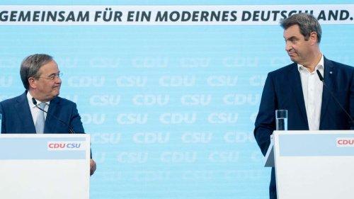 Union zerlegt sich selbst: Laschet nimmt Stellung, dann stellt Söder ihn komplett bloß