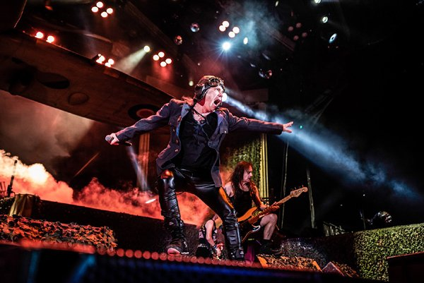IRON MAIDEN RELEASE THE FIRE AND THE FORCE IN LOS ANGELES   MetalTalk