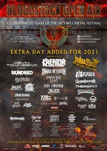 Bloodstock / Fourteen more bands added to five day festival   MetalTalk