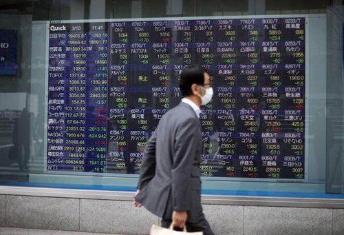 Asian Shares Middling As They Await U.S. Data