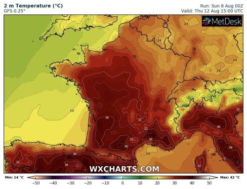 Jusqu'à 40°C attendus dans le Sud-Est cette semaine