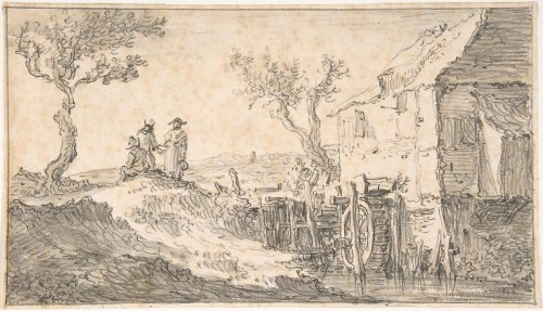 Jan van Goyen   The Water Mill   The Metropolitan Museum of Art
