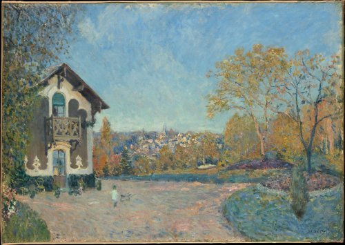 Alfred Sisley | View of Marly-le-Roi from Coeur-Volant | The Metropolitan Museum of Art
