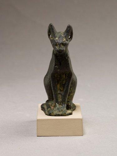 Cat | Late Period–Ptolemaic Period | The Metropolitan Museum of Art