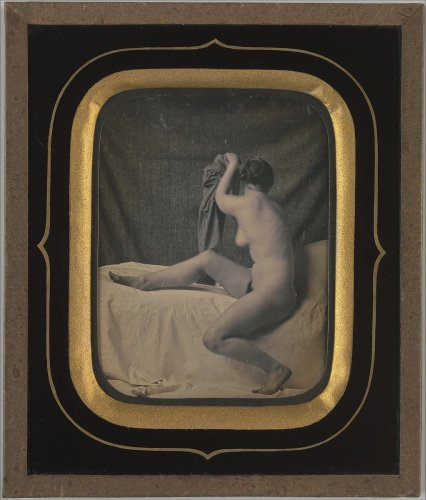 Unknown | [Seated Female Nude] | The Metropolitan Museum of Art