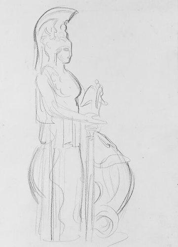 John Singer Sargent | Parthenon Athena, Acropolis Museum, Athens | American | The Metropolitan Museum of Art