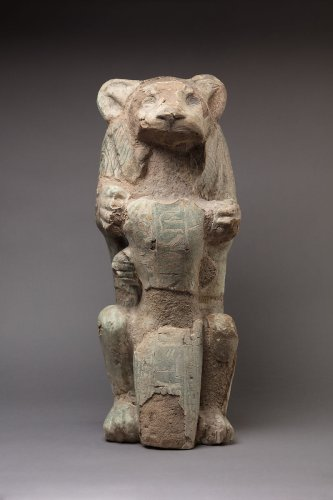 Lion Subduing a Prince of Kush ca. 1279–1213 B.C.