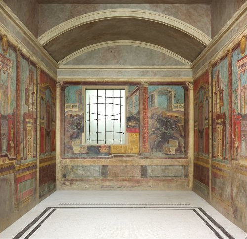 Cubiculum (bedroom) from the Villa of P. Fannius Synistor at Boscoreale   Roman   Late Republic   The Metropolitan Museum of Art