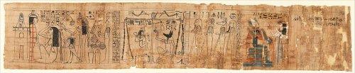 Book of the Dead Papyrus of Tiye ca. 975–945 B.C.