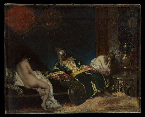 Benjamin-Constant (Jean-Joseph-Benjamin Constant) | The Serbian Concubine (Un Envoi de Serbie) | The Metropolitan Museum of Art