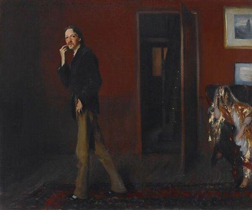 John Singer Sargent | Robert Louis Stevenson and His Wife | American | The Metropolitan Museum of Art