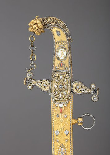 Royal Arms Manufactory at Torre Annunziata | Presentation Saber with Scabbard | Italian, Naples | The Metropolitan Museum of Art