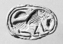 Scarab seal | Dynasty 15-17, 2nd Intermediate Period, Hyksos | The Metropolitan Museum of Art