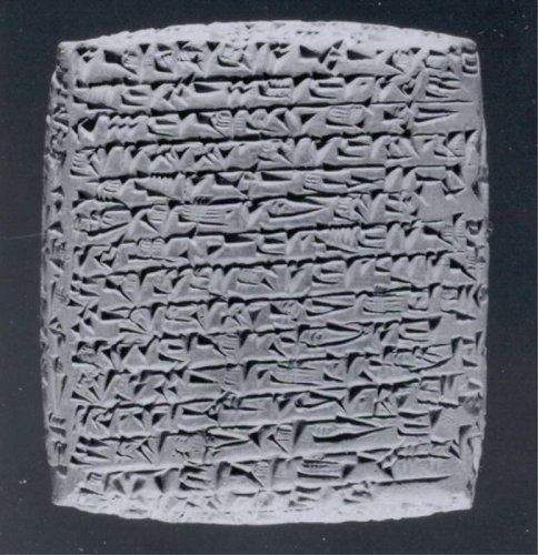 Cuneiform tablet: private letter | Old Assyrian Trading Colony | Middle Bronze Age–Old Assyrian Trading Colony | The Metropolitan Museum of Art