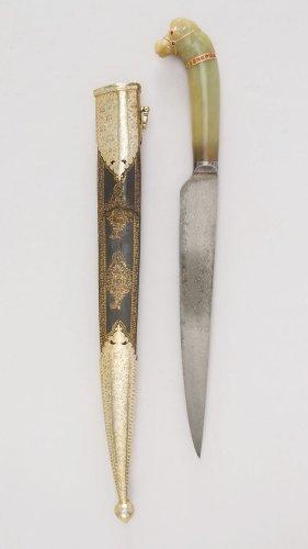 Knife with Sheath | Indian, Mughal | The Metropolitan Museum of Art