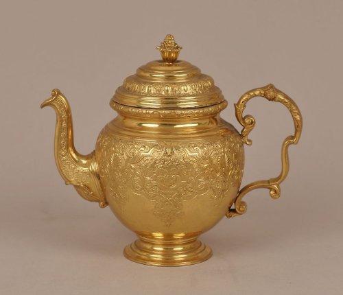 Teapot 19th century, after 1730–40 original