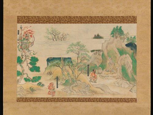 Scene from The Illustrated Legends of Jin'ōji Temple | Japan | Kamakura period (1185–1333) | The Metropolitan Museum of Art