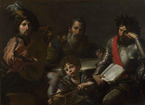 Valentin de Boulogne | Four Ages of Man | The Metropolitan Museum of Art