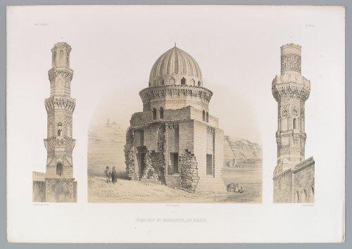 Joseph-Philibert Girault de Prangey | 87. Tombeaux et Minarets, au Kaire | The Metropolitan Museum of Art