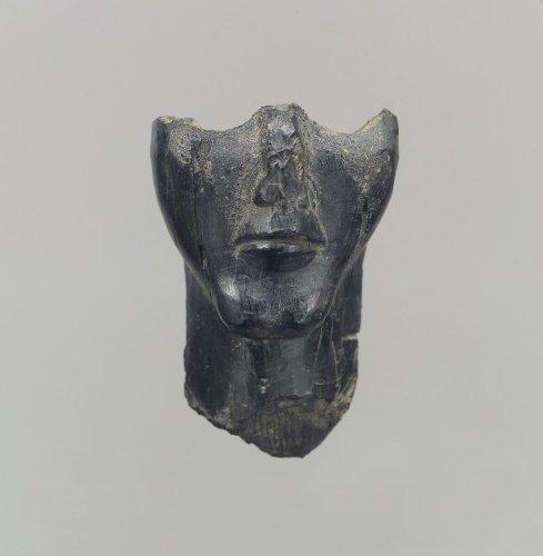 Lower half of a human head in the round | Iran | Iron Age II | The Metropolitan Museum of Art