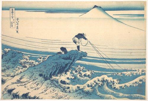 Katsushika Hokusai | Kajikazawa in Kai Province (Kōshū Kajikazawa), from the series Thirty-six Views of Mount Fuji (Fugaku sanjūrokkei) | Japan | Edo period (1615–1868) | The Metropolitan Museum of Art