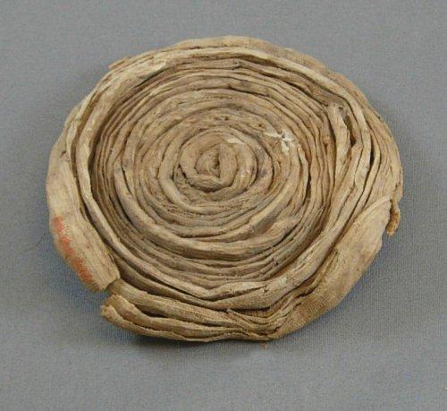 Papyrus Lid from Tutankhamun's Embalming Cache ca. 1336–1327 B.C.