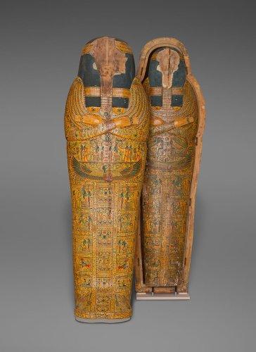 Inner Coffin of the Singer of Amun Nany ca. 1050 B.C.