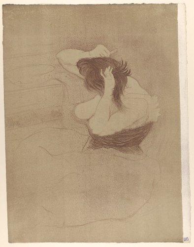 Henri de Toulouse-Lautrec | Combing Hair, from the series Elles | The Metropolitan Museum of Art