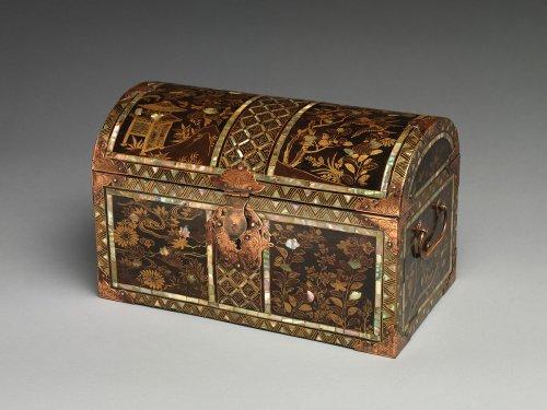 Coffer in Nanban (Southern Barbarian) Style | Japan | Momoyama period (1573–1615) | The Metropolitan Museum of Art