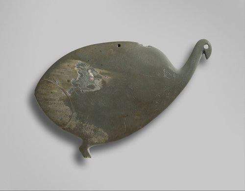 Palette shaped like a guinea fowl | Predynastic, Naqada II | The Metropolitan Museum of Art
