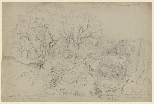 Camille Corot | Le Martinet near Montpellier | The Metropolitan Museum of Art
