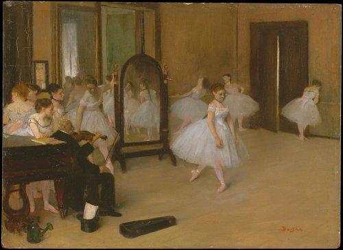 Edgar Degas | The Dancing Class | The Metropolitan Museum of Art