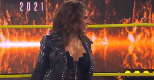 Ex-WWE legend Mickie James attacks Deonna Purrazzo at IMPACT Wrestling: Slammiversary
