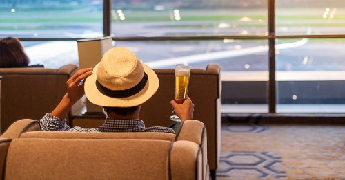 Boss sacked for pulling a sickie after being caught having a pint at airport