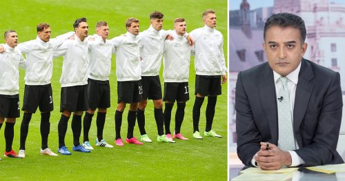 Adil Ray brands football fans booing German national anthem at Euro 2020 'despicable'
