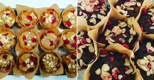 This recipe for vegan gluten-free raspberry and almond muffins makes for the perfect on-the-go breakfast