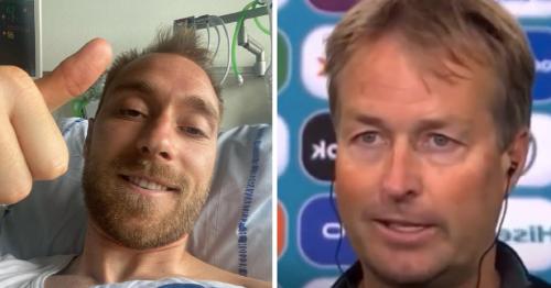 Kasper Hjulmand reveals special gift he received from Christian Eriksen after Denmark reach Euro 2020 last 16