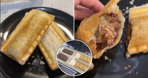 Baker shares how to make Mars Bar and Caramilk 'sausage rolls' and the idea is genius
