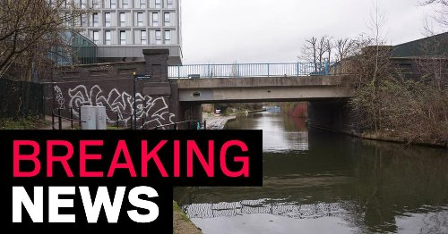 Body of newborn baby found in London canal