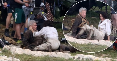 First glimpse of Harrison Ford and Phoebe Waller-Bridge shooting Indiana Jones 5 together
