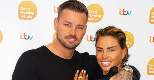 Katie Price 'jets to Turkey with fiancé Carl Woods' after speaking out over alleged attack