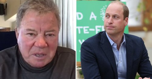 William Shatner hits back at Prince William over space travel comments