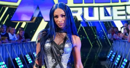 WWE star Sasha Banks cheekily uses CM Punk catchphrase to hype SmackDown as AEW rivalry heats up