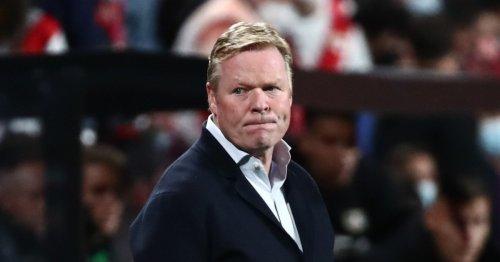 Barcelona sack Ronald Koeman with Xavi on shortlist for new manager