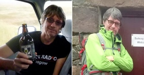 Dad falls 80 metres to death while climbing down mountain