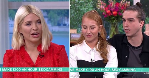 This Morning couple explains streaming their sex life online and not mixing business with pleasure: 'We try to keep it separate'