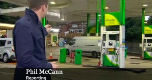 BBC Breakfast sends perfect reporter to cover the fuel shortage – Phil McCann