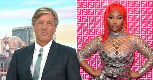 Richard Madeley brands Nicki Minaj an 'idiot' after Covid vaccine comments
